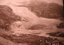 ghiacciaio del Rodano 1860
