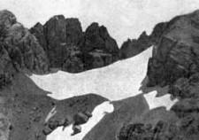 ghiacciaio del Calderone 1918. Fpto Berthelet